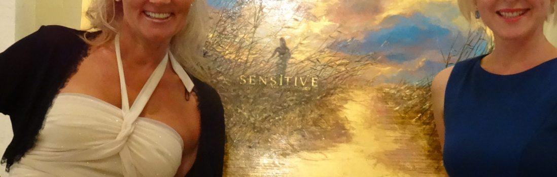 THE ORIGINAL WORK OF ART BEHIND THE SENSITIVE POSTER