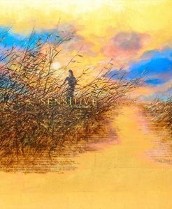 Sensitive – The Untold Story – Gold Leaf Painting