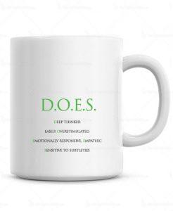 Sensitive Coffee Mug